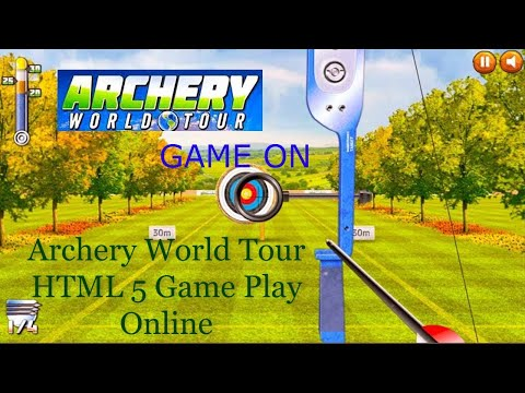 3D Archery World Tour HTML 5 Game Play Online Free