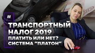 """Транспортный налог 2019. Платить или нет? Система """"Платон"""""""
