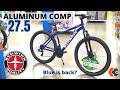 The 'Other' Schwinn Aluminum Comp Mountain Bike at Walmart - the Blue one