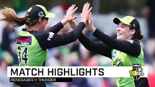 Thunder begin WBBL|04 with emphatic win