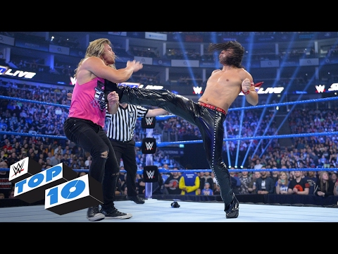 Top 10 SmackDown LIVE moments: WWE Top 10, May 9, 2017
