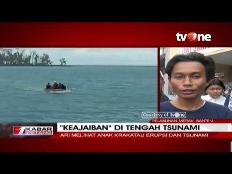 Terdampar 7 Hari di Pulau Terpencil, Seorang Nelayan Berhasil Selamat Dari Tsunami Selat Sunda