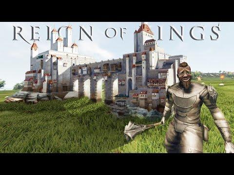 СТРОИМ ШИКАРНЫЙ ЗАМОК в Reign of Kings #4