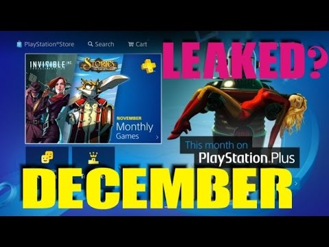 PS PLUS DECEMBER 2016 LEAKED Confirmed INSTANT GAME COLLECTION - 동영상