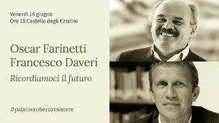 Resistere 2017 - Ricordiamoci il futuro - Oscar Farinetti e Francesco Daveri