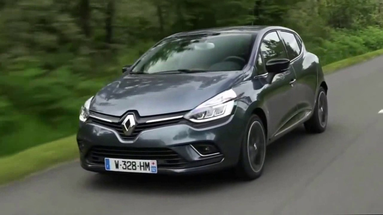 2017 New Renault Clio First Drive