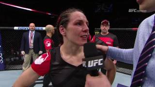 Fight Night Nashville: Alexis Davis Octagon Interview
