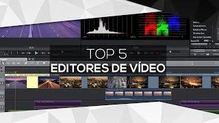 TOP 5: Os melhores editores de vídeo para PC