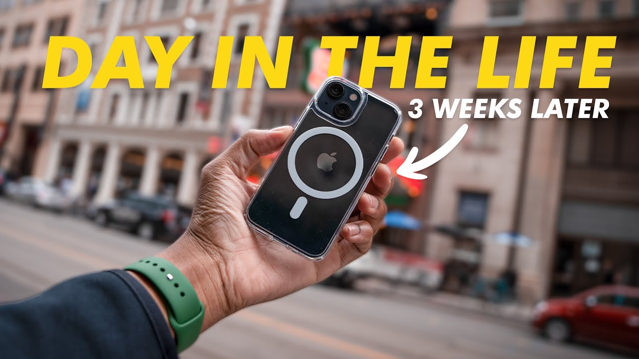 iPhone 13 Mini - Very Real Day In The Life - 3 Weeks Later (Battery Test)