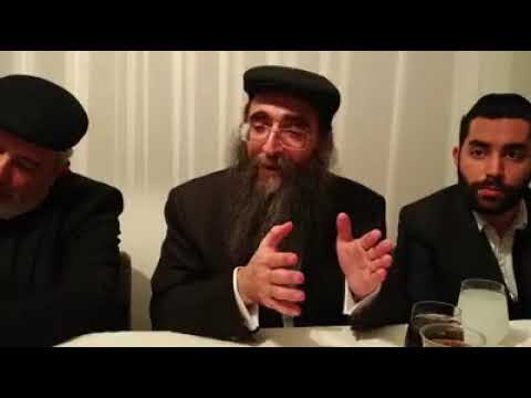 הרב פינטו - משה רבינו ע״ה - שיעור בפאריז