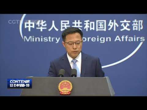 La Chine exhorte les États-Unis à s'acquitter de leurs obligations envers l'OMS