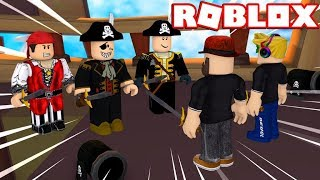ROBLOX PIRATE SIMULATOR / WE ROBBED THE PIRATE SHIP!!!