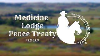 Medicine Lodge Peace Treaty in Kansas thumbnail