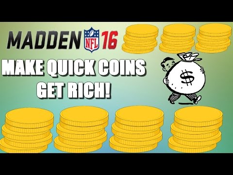 Madden 16 Ultimate Team MAKE COINS QUICK! EASY WAY TO GET RICH! Madden 16 Tips