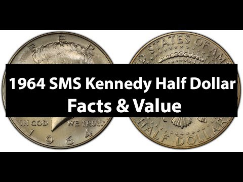 1964 SMS Kennedy Half Dollar - Special Mint Set Kennedy Half Facts Value
