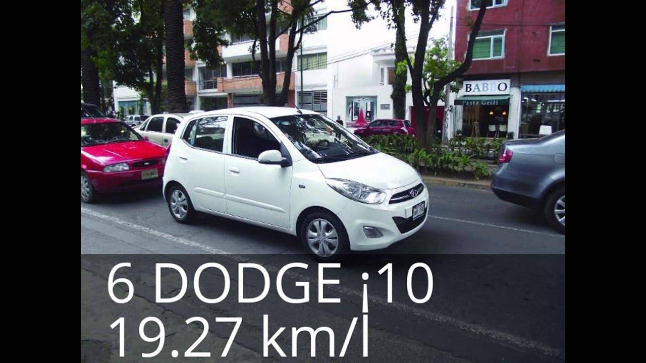 11 Carros Que Gastan Menos Gasolina En Mexico 2015 2016 Youtube