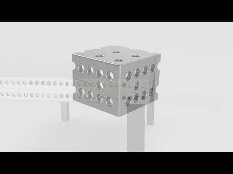 Siegmund сборочно-сварочный стол Professional 2000x1000x100 из нержавеющей стали   160020 E