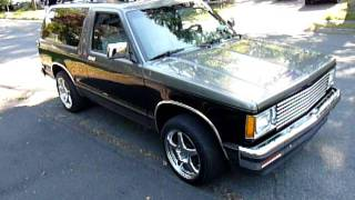 1989 Chevy S10 Blazer 350 5 speed