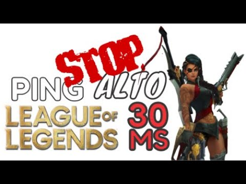 Como Bajar El Ping En Lol League Of Legends 2020 Solucionado Gaming Youtube