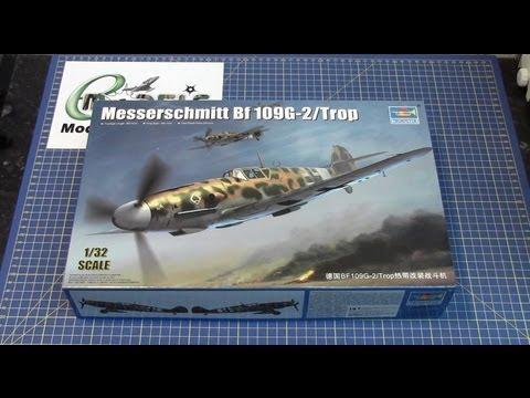 Trumpeter 02295 1//32 Messerschmitt Bf 109G-2//Trop