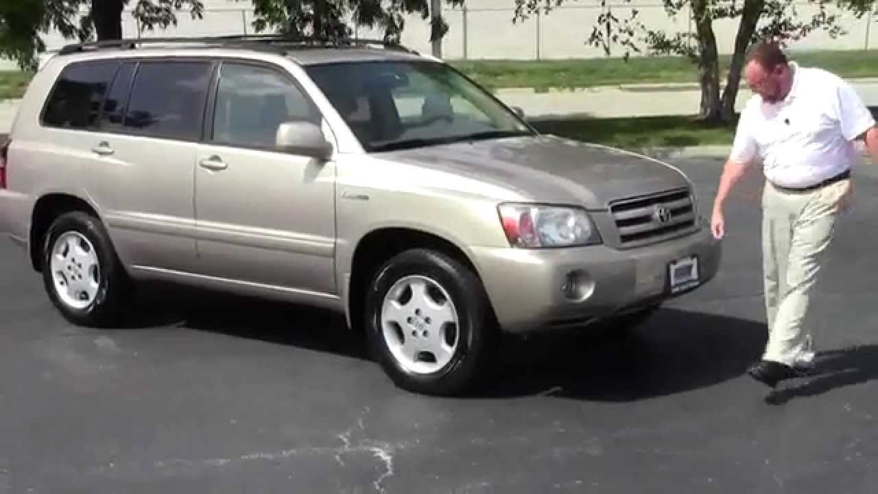 Used Toyota Highlander Limited Wd For Sale At Honda Cars Of - 2004 highlander
