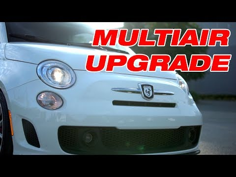 Abarth 500 Upgraded Multiair Spring Install And Some Engine Bay