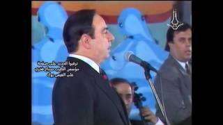 مؤسس الطرب صباح فخري - حفلة طرطوس عام 1993 - بيضاء - ابعتلي جواب - 3