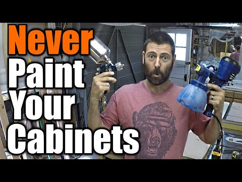 Don't Paint Your Cabinets? | THE HANDYMAN |