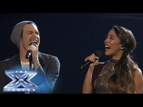 Carlito Oro Joins Alex & Sierra in a duet of Falling Slowly  THE X FACTOR USA 2013