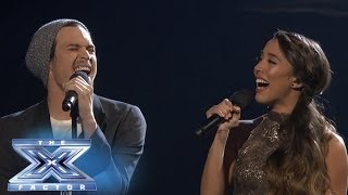 Repeat youtube video Carlito Olivero Joins Alex & Sierra in a duet of