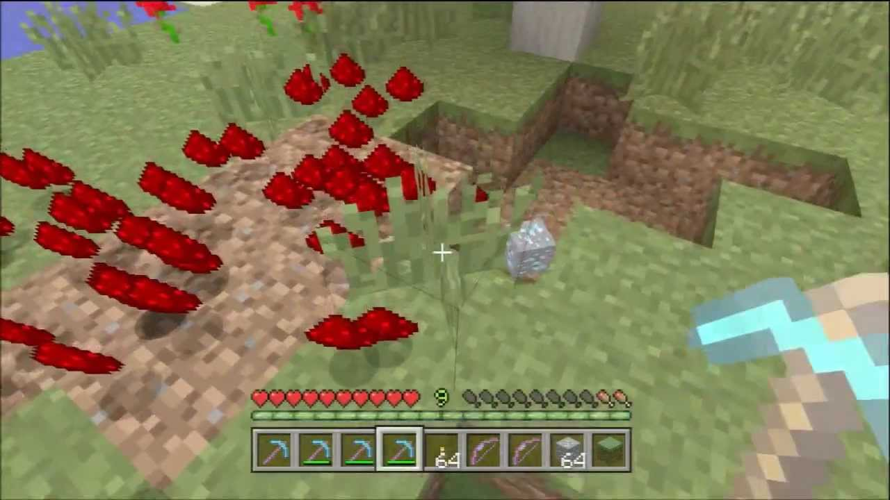 Minecraft Xbox 11 + One - Pickaxe Enchantment Guide (Silk Touch, Fortune,  Efficiency, Unbreaking)