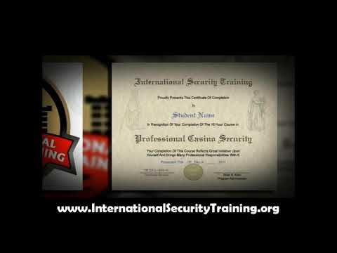 Earn Your Security Supervisor Certificate - ONLINE Course!