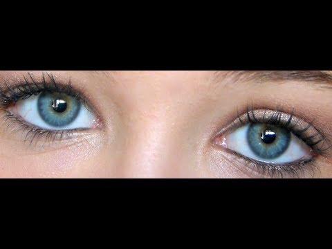 Maquillage pour yeux bleus verts - Yeux bleu vert gris ...
