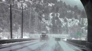 I-70, Arvada Colorado & Glenwood Canyon USA