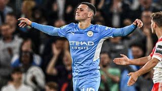 Phil Foden vs Wycombe // Every Touch Carabao Cup (21/09/2021)