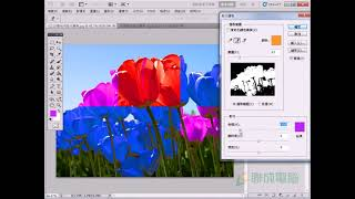 【PhotoShop CS5】簡單學會快速變色密技