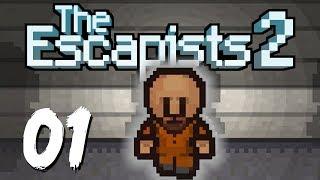 мОЯ ПЕРВАЯ ХОДКА! - The Escapists 2 - Часть #1