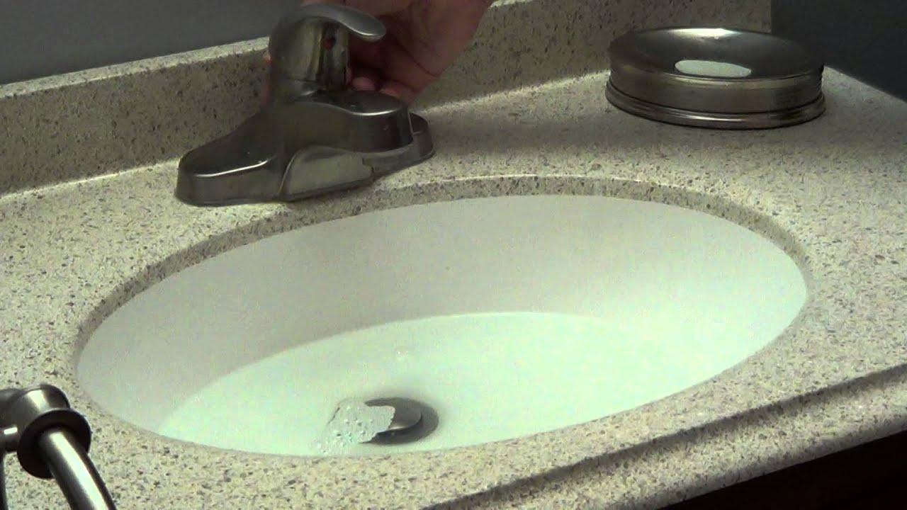 unclog bathroom sink - bacterial drain cleaner - youtube