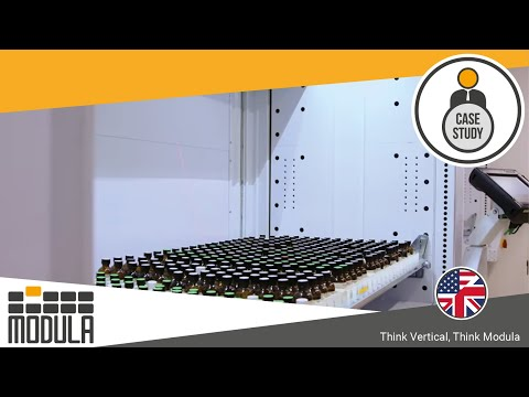 Warehouse Picking Operations improved with Modula solution for Symrise [USA] - Cosmetics