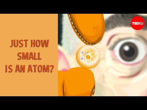 Just How Small is an Atom?