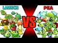 Gambar cover Team PEA vs LAUNCH - Which Team Plant Will Win? - PvZ 2 Plant vs Plant