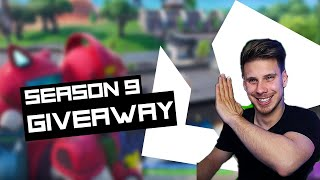 FORTNITE SEASON 9 BATTLE PASS Giveaway - France BASSI FORTNITE CONSEILS