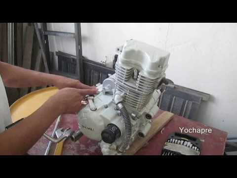 Bajada motor Shengli 300 1de 9