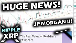 "MOST BULLISH RIPPLE XRP NEWS EVER SEEN JP Morgan Announces ""Ripple Effect"" ""New U.S. Payment System"""