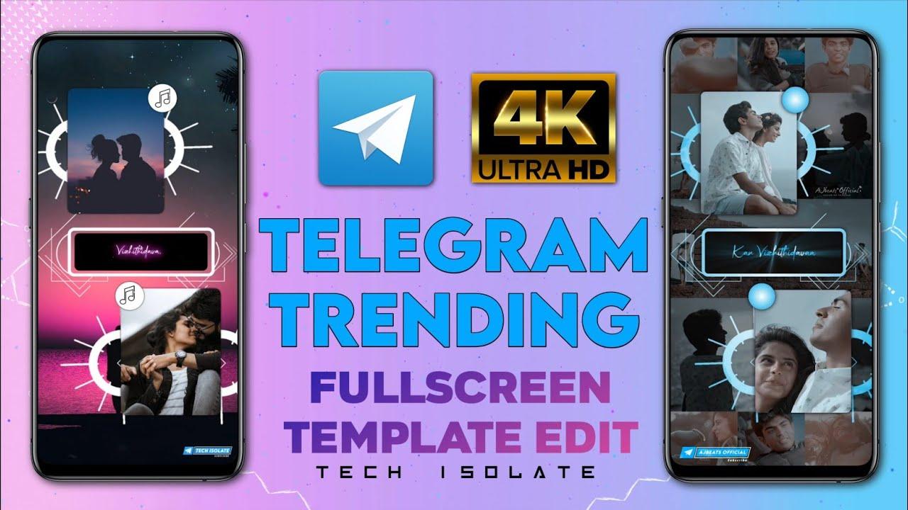 Telegram Trending Fullscreen Video Editing In Alight Motion | New Template For Fullscreen Video | TI
