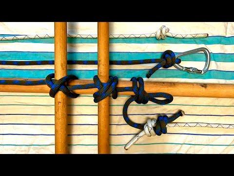 Питонов узел. Модификации, применение и способы вязания