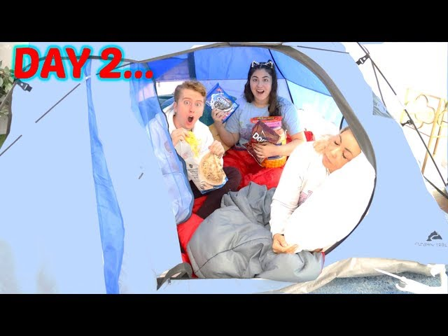 LAST TO LEAVE THE TENT WINS $10,000 CHALLENGE!