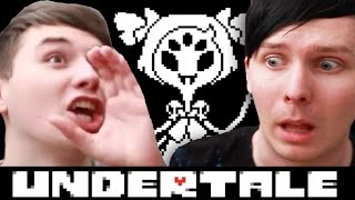 SCARY SPIDER ATTACK - Dan and Phil play: Undertale #7