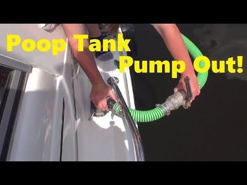 Boating Basics - Poop Tank Pump Out