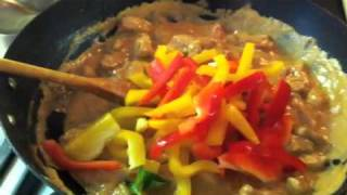 Jenn's Colorful Thai Red Curry Chicken